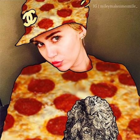 Miley Pizza Cyrus