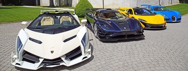 A subasta los coches confiscados de Obiang, hijo del dictador de Guinea Ecuatorial: de un One:1 a un Veneno