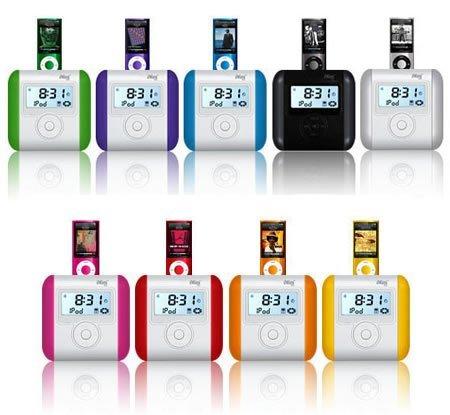 OZAKI iMini Cute IP830RAINBOW, altavoces de colores para el iPod Nano