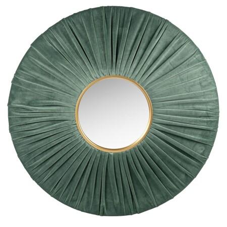 Espejo De Terciopelo Verde Y Dorado 70 Cm 1000 0 39 216478 2