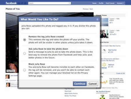 Facebook y sus imágenes