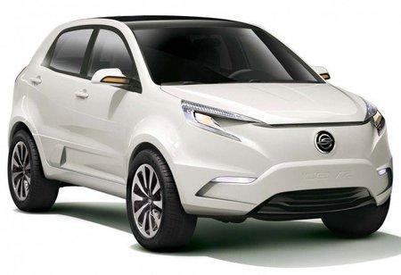 KEV2, prototipo  de SUV eléctrico de SsangYong