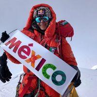 Viridiana Álvarez Chávez es la primera latinoamericana (y mexicana) en conquistar el K2, la segunda montaña más alta del mundo