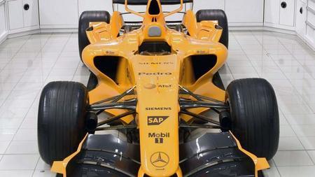 McLaren podría recuperar el color naranja