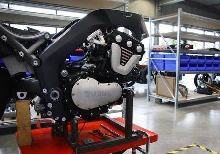 Comienza la producción de la Horex VR6