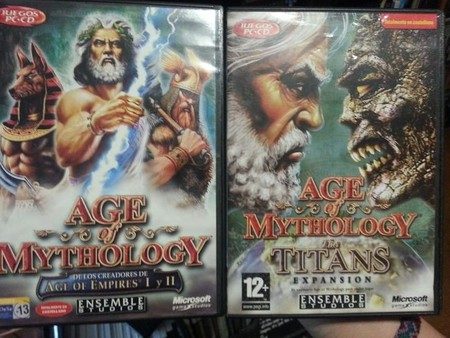 Age of Mythology y su expansión The Titans