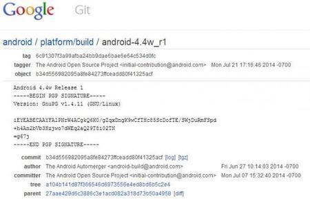 Código Android Wear