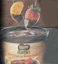 La nueva fondue de chocolate para postres de Nestlé