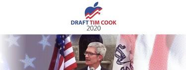 Qualcomm estuvo detrás de la campaña que proponía a Tim Cook para las Presidenciales de 2020 (y otras historias falsas)