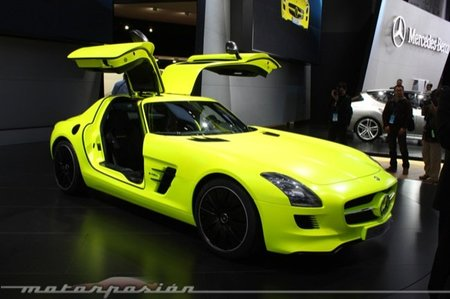 Mercedes Aesthetics II y SLS AMG E-Cell