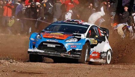 Rally de Catalunya 2012: Mads Ostberg duerme como líder tras la primera jornada