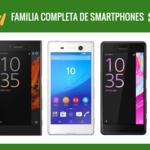 Así queda el catálogo completo de móviles Sony tras la llegada de los nuevos Xperia XZ y Xperia X Compact