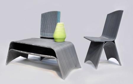 Si puedes imprimir tu casa en 3D, también puedes imprimir tus muebles
