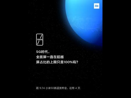 Xiaomi Mi Mix Alpha 5g Teaser Pantalla 100