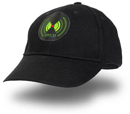 Gorra detectora de Wi-fi