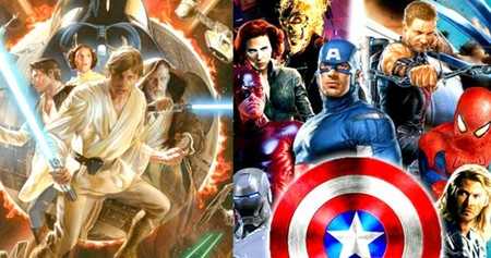Star Wars Marvel Disney