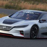 Nissan presentó la segunda generación del LEAF Nismo RC, un auto de carreras en serio