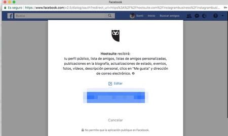 Window Y Facebook Y Hootsuite