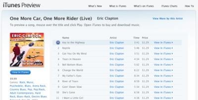 Ya podemos escuchar muestras de las canciones en iTunes Preview