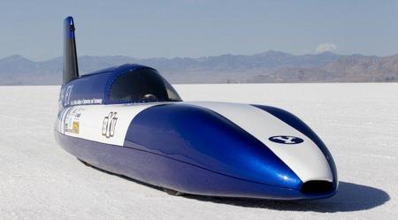 Electric Blue, récord de velocidad de un eléctrico