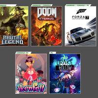 DOOM Eternal, Forza Motorsport 7 y otros tres juegos más se unirán a Xbox Game Pass en octubre