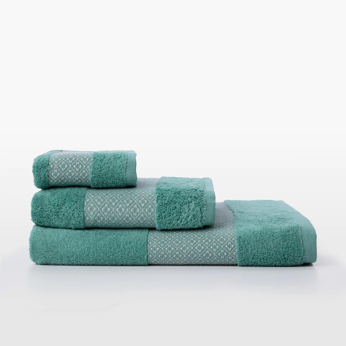 EL CORTE INGLÉS Toalla de baño de algodón Nogal El Corte Inglés