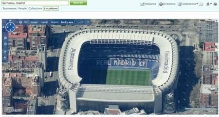 Maps Live ya sobrevuela Madrid