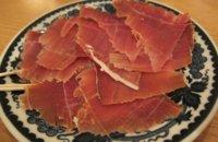 Análisis nutricional de una porción de jamón serrano