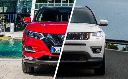 Comparativa Jeep Compass vs Nissan Qashqai: ¿cuál es mejor para comprar?