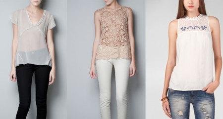 Rebajas 2013: blusitas que me sirven para lucir en primavera