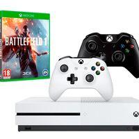 Llevate un mando extra y Battlefield 1 con tu XBox One S por sólo 269 euros, esta mañana en Mediamarkt