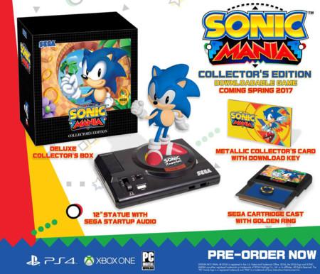 Sonic Mania Coleccion