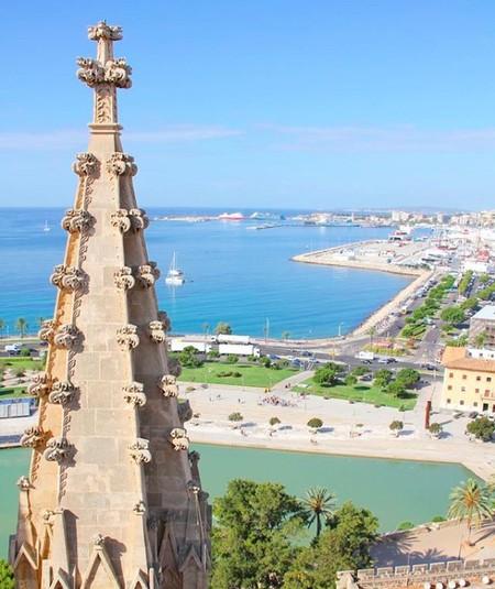 Palma desde las alturas: asómate a la terraza de la Catedral