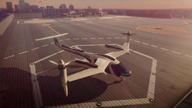 Uber trabaja con el ejército estadounidense para desarrollar autos voladores