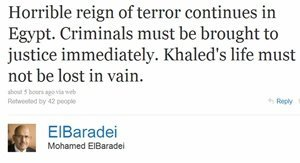 El Baredei Twitter