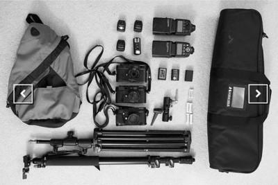 ShotKit, para conocer lo que los fotógrafos llevan en su bolsa