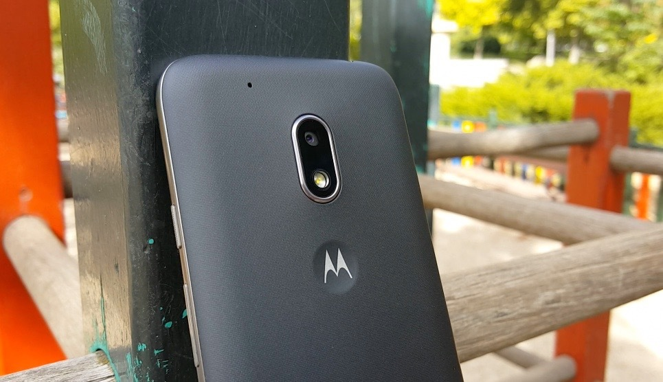 Moto G4 Play, diseño