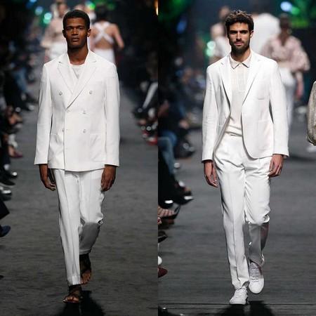 Pedro Del Hierro Apuesta Por El Desenfado Sartorial Para Su Coleccion En La Semana De La Moda De Madrid 4