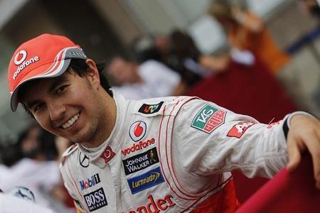 Sergio Pérez se despide de McLaren