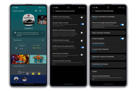 Samsung Galaxy Note10 Lite Software Game