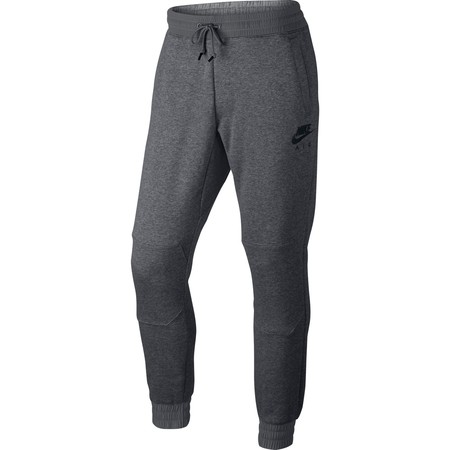 Por sólo 17,99 euros podemos hacernos con estos pantalones de chándal Nike en gris jaspeado en La Redoute