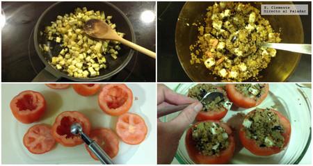 Tomates Al Horno Rellenos Quinoa