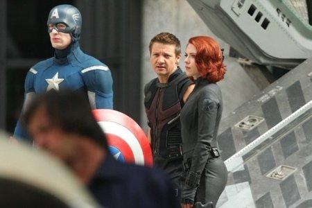 'Los Vengadores', nuevas imágenes del rodaje con todos los protagonistas