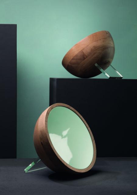 Espejo semiesférico