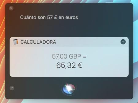 Siri Convertir Moneda