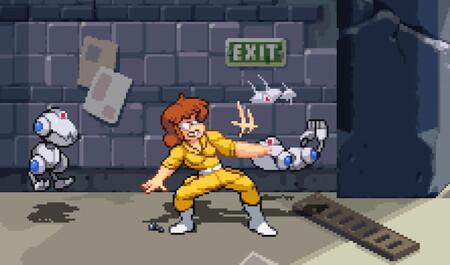 La reportera April O'Neil será el quinto personaje jugable de Teenage Mutant Ninja Turtles: Shredder's Revenge y aquí la tenemos en acción