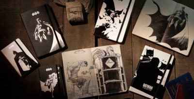 Moleskine lanza una libreta en edición limitada de Batman