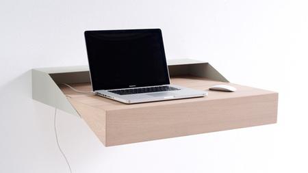 Deskbox, escritorio plegable y minimalista - 2
