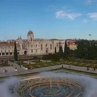 Sobrevolando una joya arquitectónica: el Monasterio de los Jerónimos en Lisboa