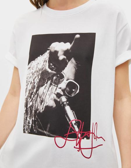 Bershka Camisetas Banda 90 04